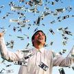Настоящий денежный дождь из миллиона долларов постиг жителей Атланты (ВИДЕО)