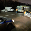 Фотофакт: в Минске произошло ДТП с участием троллейбуса и каршерингового автомобиля