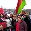 Как прошел субботний автопробег «За единую Беларусь»?