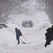 Штормовое предупреждение из-за снегопадов объявили синоптики в Беларуси