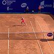Саснович вышла в третий квалификационный раунд турнира в Палермо