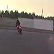 Погоня ГАИ за мотоциклистом по улицам Борисова (ВИДЕО)