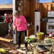 Сильный торнадо в Алабаме: дерево обрушилось на дом, в котором пряталась семья