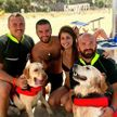 На празднике в Италии собаки спасли восемь человек в море