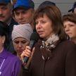 Лукашенко – коллективу завода «Кореличи-Лён» о выборах: Вы будете избирать