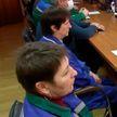 Представители трудовых коллективов следят за ходом Всебелорусского народного собрания