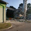 Мощный взрыв прогремел на территории «Мостовдрева»