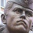 В Минске торжественно открыли памятник молдавскому воину Иону Солтысу