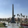 Александр Лукашенко и президент Египта посещают объекты Нового Каира