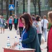Молодежь принимает участие в предвыборной парламентской кампании