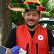 Мексиканец приехал из Канады в Беларусь на несколько дней, а остался насовсем. Чем его покорила наша страна и как он стал волонтером?