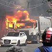 В Бразилии на жилые дома упал частный самолёт: два человека погибли