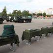 Александр Лукашенко посещает 103-ю Витебскую воздушно-десантную бригаду
