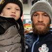 Макгрегор поделился милым видео с тренировки со своими детьми
