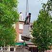 В Антверпене в знак борьбы с расизмом снесли памятник королю Леопольду II