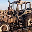 Трактор сгорел в Ивьевском районе