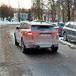 На улице Жудро в Минске девочка попала под колеса автомобиля