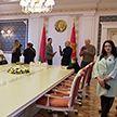 «Патриоты Беларуси» посетили Дворец Независимости