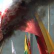 Беспорядки с жестким разгоном полыхают в Литве. Как на это реагируют заступники демократии?