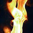 Комбайн загорелся в поле в Докшицком районе