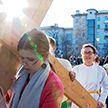 Крестным ходом прошли верующие в Минске