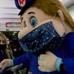 Акция «Надень маску в метро» прошла в минской подземке