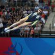 Белорусы выиграли золото в синхронных прыжках на батуте II Европейских игр