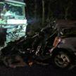 В Полоцком районе водитель внедорожника столкнулась с фурой и погибла