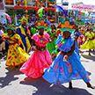 Ежегодный карнавал на Гаити отменили из-за беспорядков