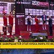 В Минске завершается этап Кубка мира по велоспорту на треке