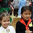 Школьники из Китая преодолели тысячи километров, чтобы встретиться с друзьями из Могилёва