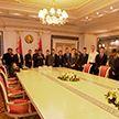Курсанты и сотрудники Академии МВД побывали на экскурсии во Дворце Независимости