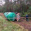 Цистерна со сжиженным газом опрокинулась в Мозырском районе