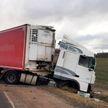 ДТП в Глубокском районе: погиб водитель грузовика