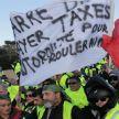 «Жёлтые жилеты» провели во Франции 15-ю по счёту акцию протеста