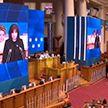 Наталья Кочанова выступила на Евразийском женском форуме в Санкт-Петербурге