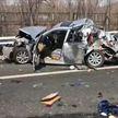 Массовая авария на скоростной трассе в Пекине: столкнулись 16 автомобилей
