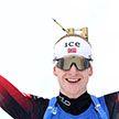 С огромным отрывом: Йоханнес Бё выиграл масс-старт на ЧМ по биатлону