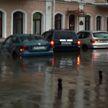 На Минск обрушился сильный ливень