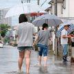 В Японии из-за сильных ливней эвакуировали более 110 тыс. человек