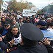 Антиправительственные протесты в Албании: митингующие вступили в стычки с полицией