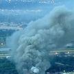 Пожар в США: горело перерабатывающее предприятие в Оклахоме