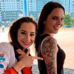 Испанка сделала себе на полруки тату с изображением белорусской гимнастки Екатерины Галкиной