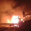 ДТП на М1 в Минской области: в сгоревшем грузовике обнаружили два тела
