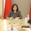 Наталья Кочанова встретилась с президиумом Молодежного парламента, БРСМ и активом Минска