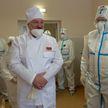 Посещение Лукашенко Молодечненской больницы: общение с медиками и пациентами, о вакцине от COVID-19 и медстраховании – все подробности