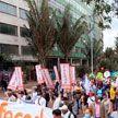 В Колумбии возобновились протесты против налоговых реформ