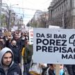 Массовые протесты прошли в Сербии