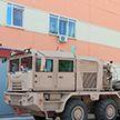Техника Минского завода колёсных тягачей готова к отгрузке в пески Аравии