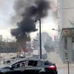 Неизвестные сожгли несколько машин в ходе беспорядков во Франции